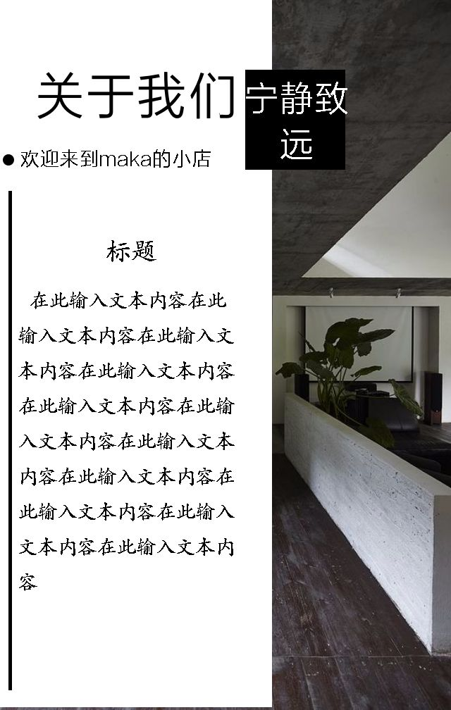 小清新民宿/酒店/旅馆/介绍/开业/房间介绍/推广活动/