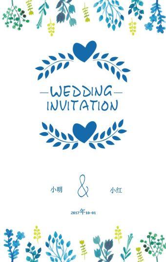 婚礼、活动邀请函
