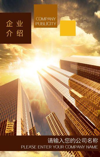 金色大气企业宣传/公司介绍