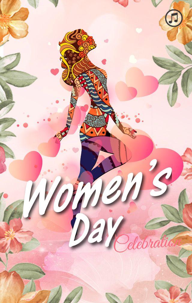 三八妇女节促销模板