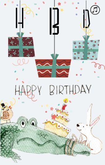 生日快乐啦