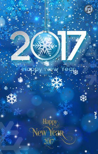 新年元旦梦幻祝福贺卡节日祝福个人企业通用