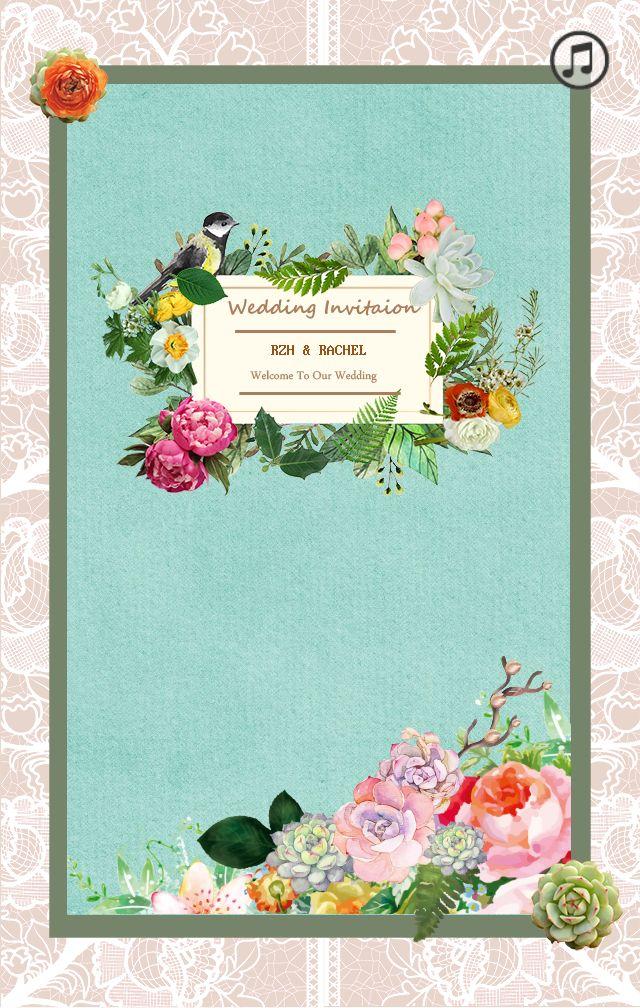 上一页  1 /  下一页 设计以蕾丝花边,木纹,树叶,花朵等元素,带出森系