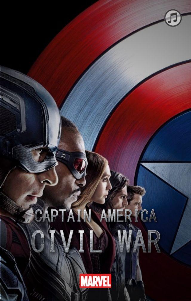 美国队长大电影主题模板