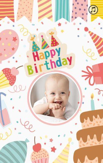 Happy Birthday—儿童生日祝福模板