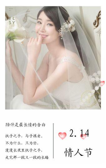 情人节、生日、七夕、纪念日、告白通用模板