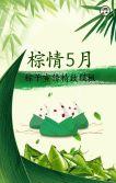 端午节粽子宣传促销模板