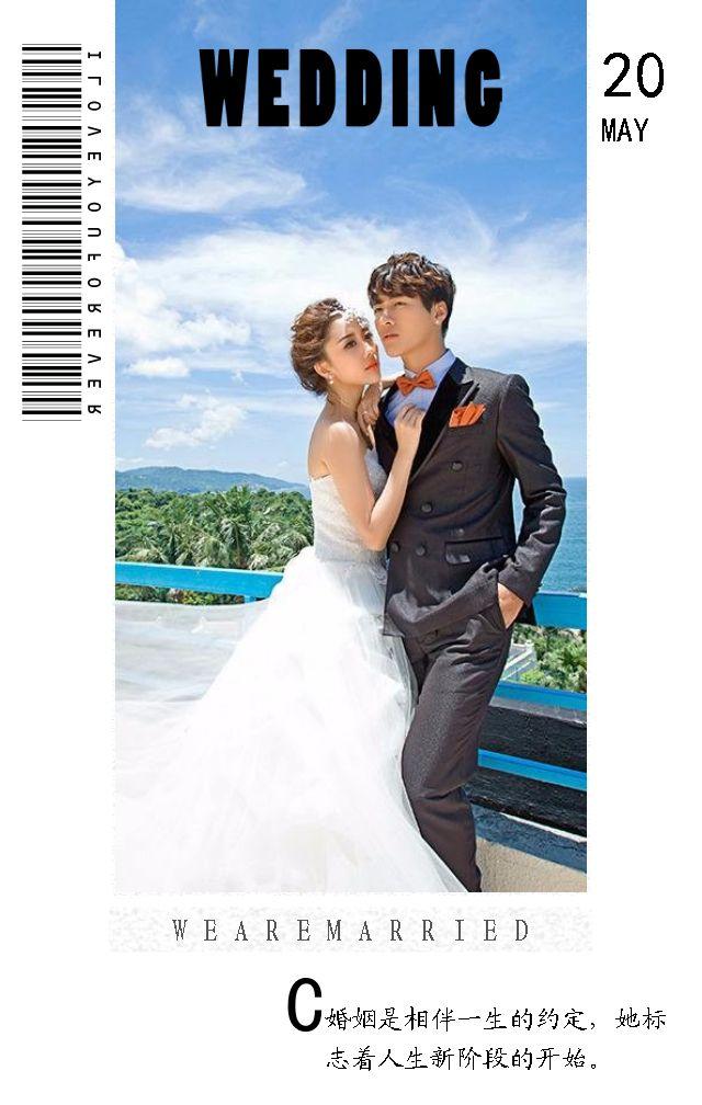 婚礼 婚礼请柬 婚礼邀请函 文艺婚礼 浪漫婚礼 简约婚礼 清新婚礼 时尚婚礼 杂志风格婚礼 婚庆