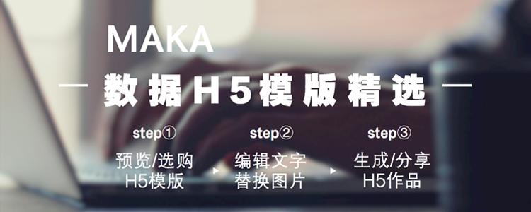 MAKA数据H5模版精选