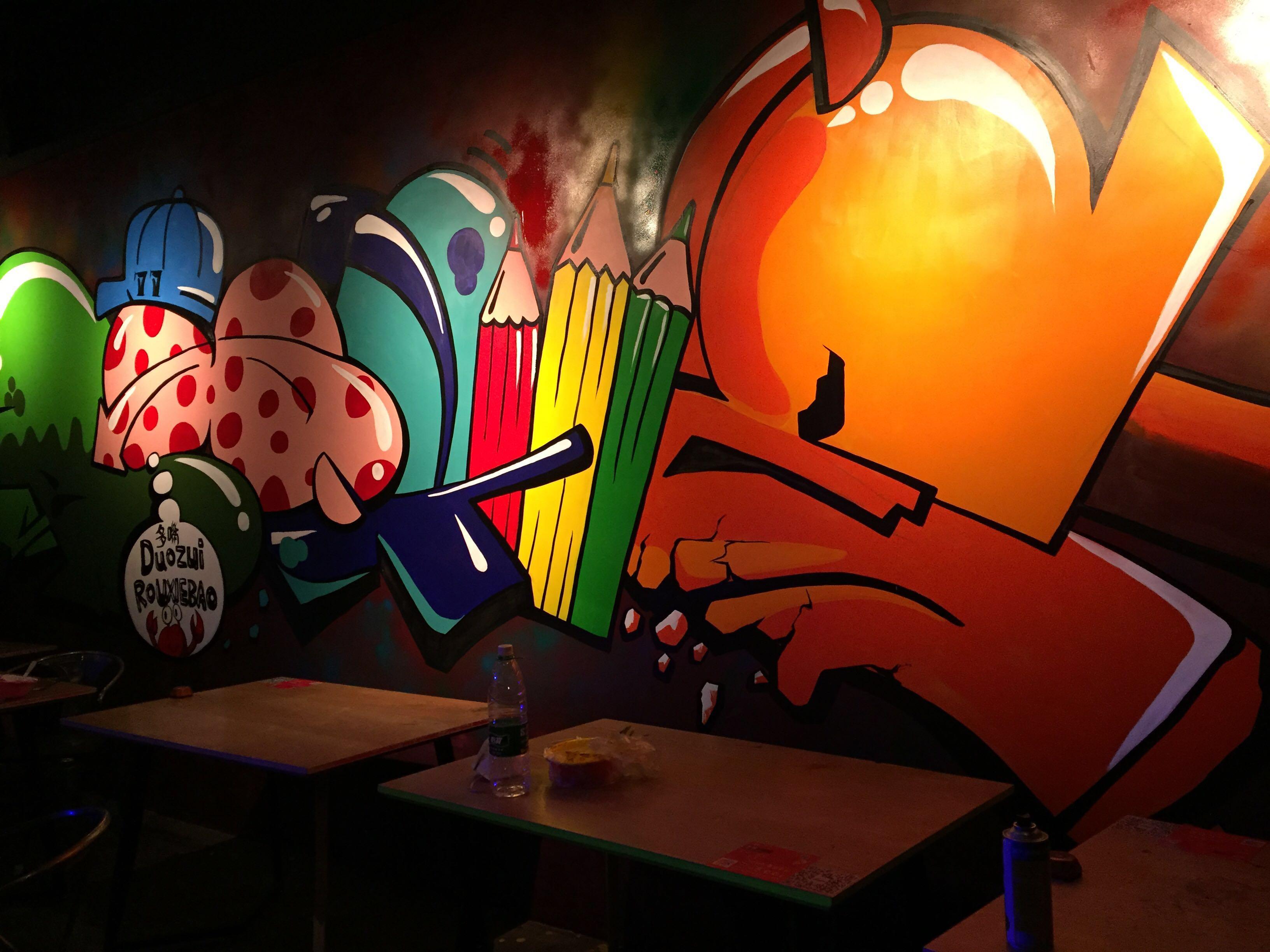 幼儿园 3.学校(文化墙) 4.餐饮业(连锁主题餐厅) 5.网吧 6.球吧 7.
