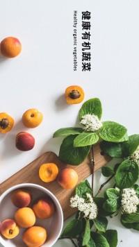 服装品牌产品介绍 蔬菜  时尚简约通用模板