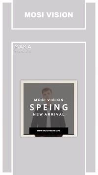 品牌服装春季新品促销宣传-1
