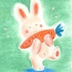 不吃萝卜的兔子