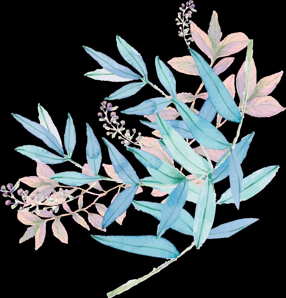 浪漫甜美水彩手绘花卉结婚贺卡 婚礼邀请函_微信h5页面_maka