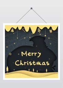 圣诞节促销祝福公众号封面次条小图