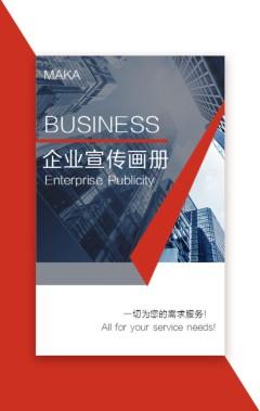 企业宣传画册 公司简介 公司介绍 简洁商务 工作总结报告