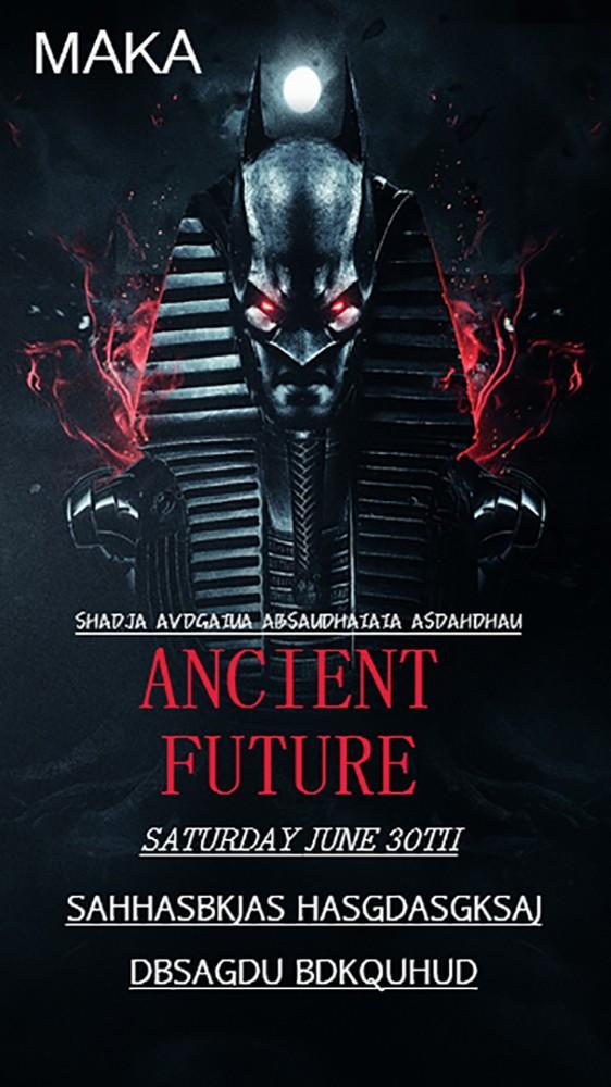 ANCIENT FUTURE古老的未来电影海报