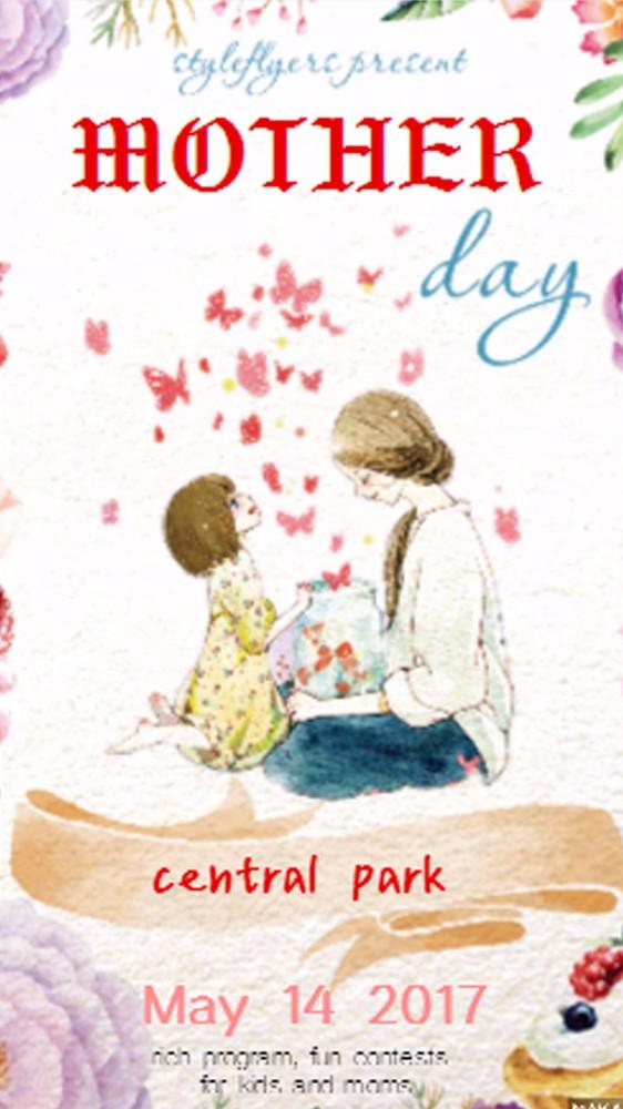 母亲节感恩海报