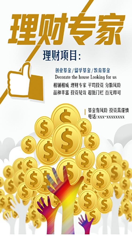 理财项目海报