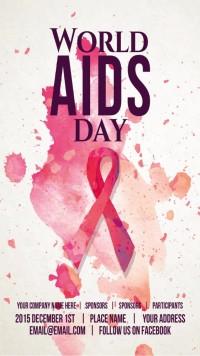公益宣传艾滋病日