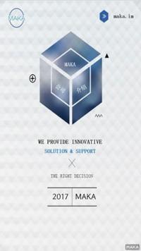 立体几何正方形创意海报