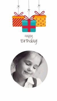 生日相册卡通贺卡