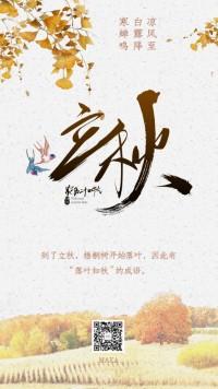 立秋农历二十四节气秋语