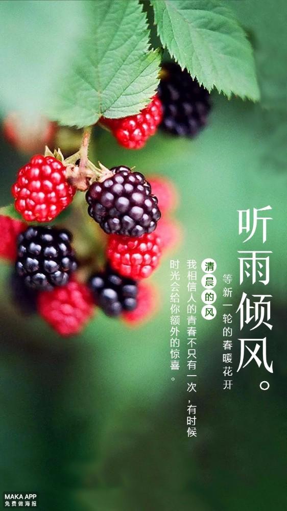 食品旅游宣传海报