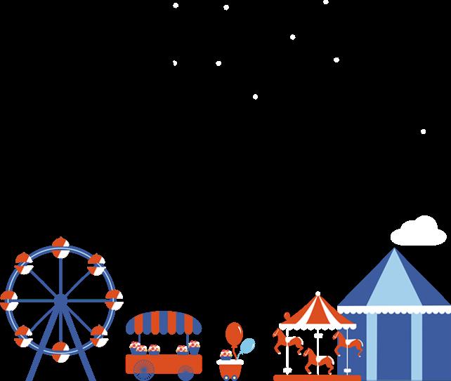 卡通 可爱 童趣 六一儿童节邀请函 小学幼儿园文艺汇演 儿童表演 亲子