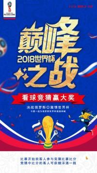 金色巅峰对决俄罗斯世界杯赛程表对阵表海报