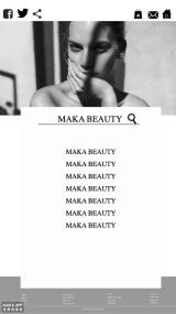 时尚海报网页美容美业高级简约