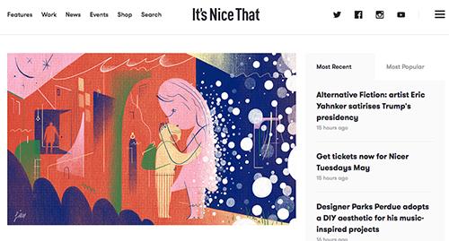 手绘开业海报素材怎么找 推荐几个插画网站帮你忙