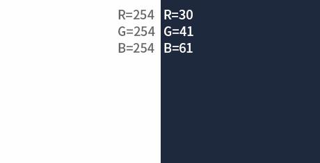 大气招聘H5色彩搭配技巧 设计师珍藏的RGB数据分享