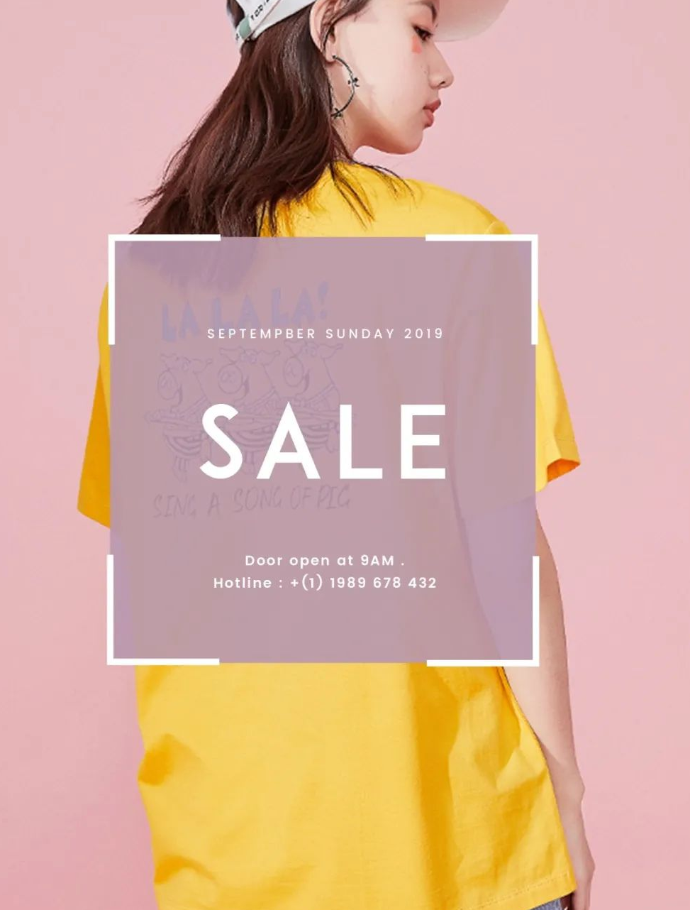 优秀服装促销海报案例分享 看看服装促销海报能有多出彩