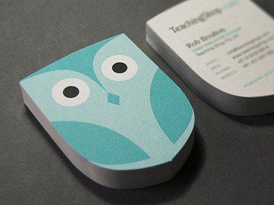 独特社交名片设计技巧 让别人在一堆名片中记住你