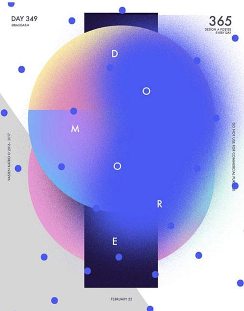 海报设计排版案例赏析  高级感海报设计怎么做