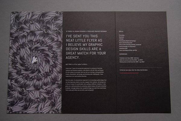 时尚宣传单设计作品分享 这些高大上的宣传单你都见过吗