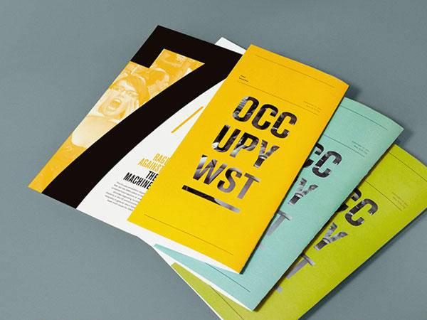 时尚宣传单设计作品参考 给你的传单换个样吧