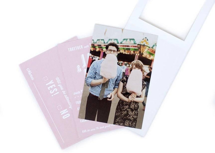 婚礼邀请卡设计作品鉴赏 这些邀请卡才叫有创意