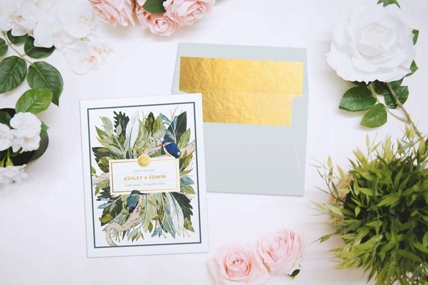 婚礼邀请卡设计作品参考 这样的邀请卡才出彩
