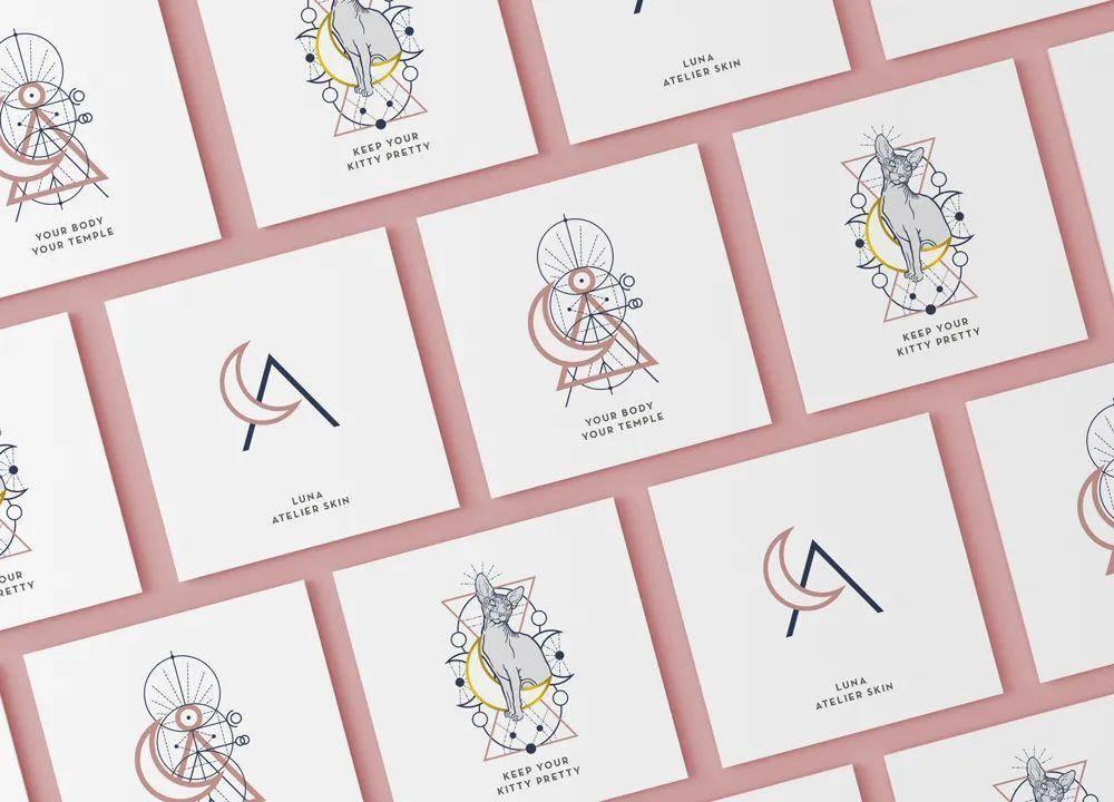 简洁书签设计作品分享 简约风格别样美