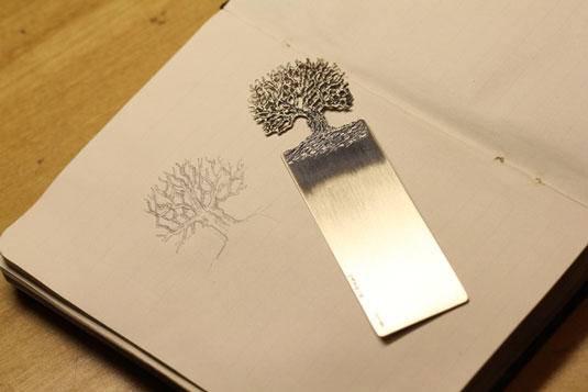 金属书签设计作品欣赏 最有质感的书签都在这