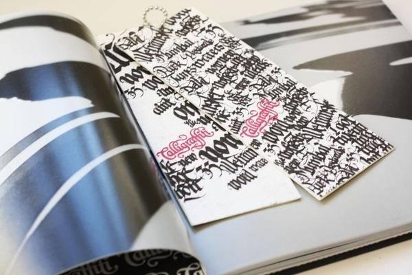 纸质书签设计作品欣赏 书签就要独一无二