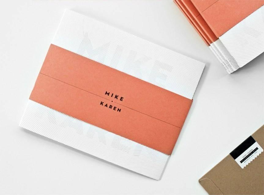婚礼邀请卡设计作品欣赏 这样的邀请卡才好看