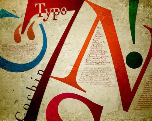 海报设计示范技巧分析 海报设计示范里的文案技巧