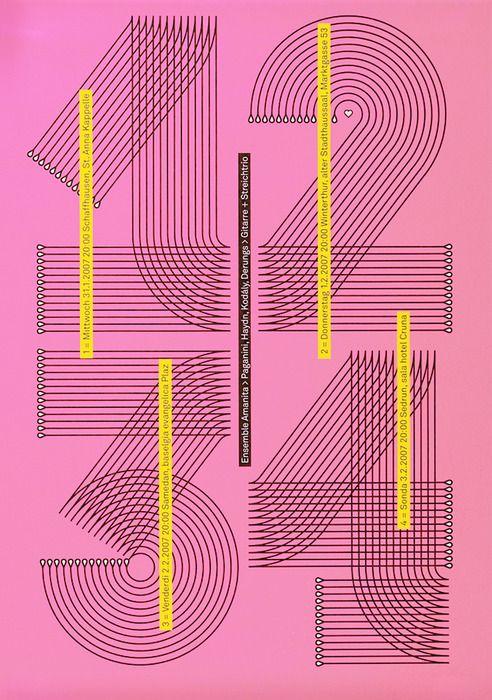 海报设计参考分析 海报设计参考里的文字排版技巧