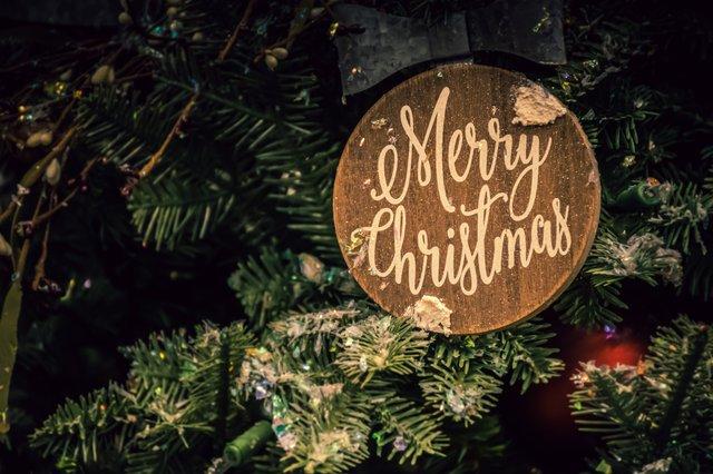 绿色系圣诞节海报设计模版集锦 颜色单一也能设计精美