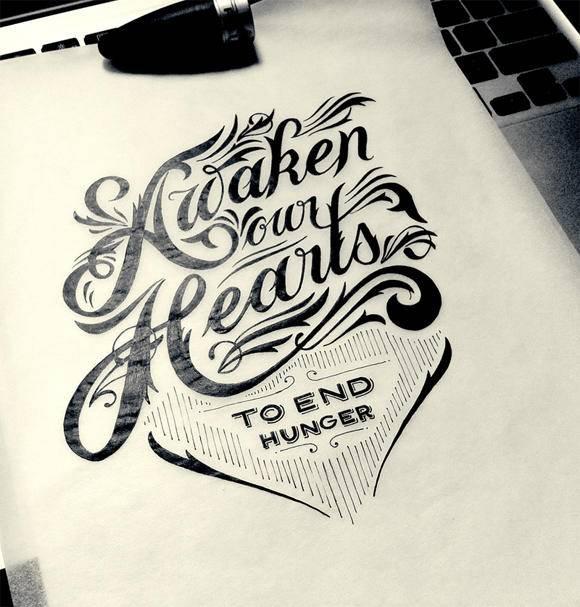海报设计素材分享 时尚好看的手绘海报字体