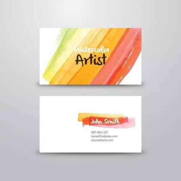 社交名片设计案例分享 有哪些简约大气的社交名片