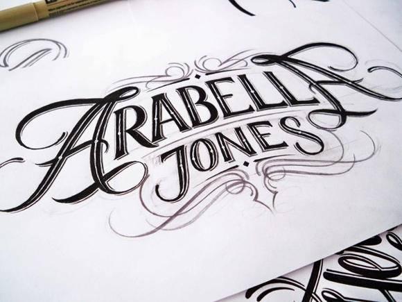 海报设计素材分享 精选手绘海报字体